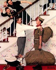 norman rockwell father - Google Search