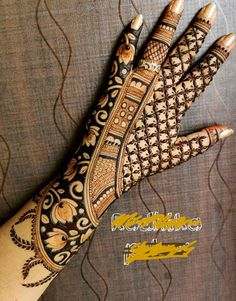 Latest Bridal Mehndi Designs, Back Hand Mehndi Designs, Legs Mehndi Design, Henna Art Designs, Mehndi Designs 2018, Stylish Mehndi Designs, Mehndi Designs For Girls, Mehndi Design Photos, Wedding Mehndi Designs