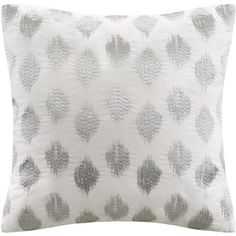 Shop for Ink+Ivy Nadia Dot Embroidered 18-inch Cotton Throw Pillow. Free Shipping on orders over $45 at Overstock.com - Your Online Home Decor Outlet Store! Get 5% in rewards with Club O! - 17160714