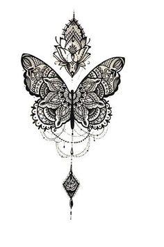 par Medly Tanya Lepper tanyalepper Lace sleeve tattoos Butterfly tattoo illustration tatouage d&;un papillon féerique avec une […] butterfly tattoo Tribal Sleeve Tattoos, Tattoos Skull, Cute Tattoos, Body Art Tattoos, Small Tattoos, Foot Tattoos, Unique Half Sleeve Tattoos, Girl Thigh Tattoos, Girl Back Tattoos