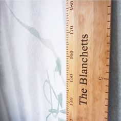 Design a custom style or choose from designed laser engraved height charts to record milestones. Wooden Height Chart, Ruler, Laser Engraving, Old School, Charts, Old Things, Instagram, Graphics