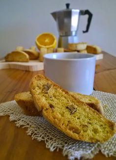 Cozinha da Tissi: Biscotti de laranja e nozes Orange pecan biscotti