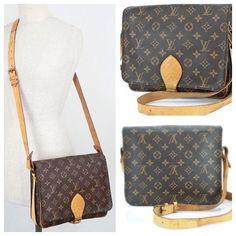 Louis Vuitton Cartouchiere Gm Brown Cross Body Bag $445