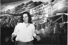Wetlands Preserve, which opened in TriBeCa on Valentine's Day in 1989 and became nationally recognized as a mecca for jam bands like Phish, Blues Traveler and the Dave Matthews Band. Larry Block, pictured here on March 3, 1989 in front of the 1960s decor, was the owner of the club. It closed in September 2001.
