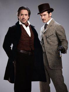 Robert Downey Jr. & Jude Law.