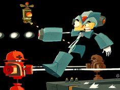 9. Mega Man X byPatricio Betteo