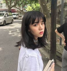 27 Best Korean Bangs Images Hair Korean Hairstyles Hair With Bangs