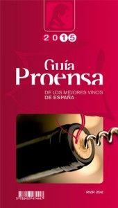 Portada de Guía #Proensa de los Mejores #Vinos de #España 2015