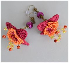 marmotescu rev crochet earrings