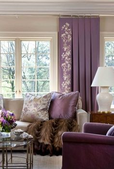 I really am beginning to like this purple color.  I can't think of where I could use it in my house though.