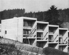 Hans Zangger Terrace Houses, Aarau, Switzerland, 1964