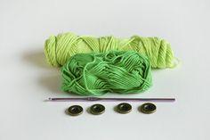GREEN ZEBRA – Crochet Baby Booties FREE | Croby Patterns