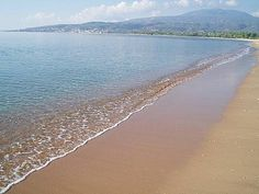 Bouka beach in Messinia pref. Most Beautiful Beaches, Beautiful Places, Corinth Canal, Best Western, Mountain View, Outdoor Pool, Hotels And Resorts, Grape Vines, Strand