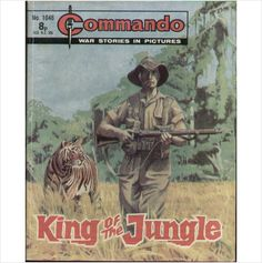 COMMANDO COMIC NO 1046 1976 TILLEYS of SHEFFIELD