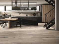 Porcelain stoneware flooring with wood effect TIMELESS ADVANCE® by Ceramica Rondine Healthy Environment, Porcelain Tile, Design Trends, Stoneware, Minimalism, Flooring, Rustic, Wood, Modern
