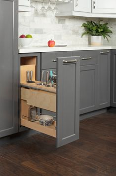 10 Kitchen Design Trends From New Products Coming in 2021 Small Space Storage, Kitchen Design, Kitchen Ideas, Kitchen Cabinets, Kitchen Island, Small Spaces, Design Trends, Design Ideas, House Plans