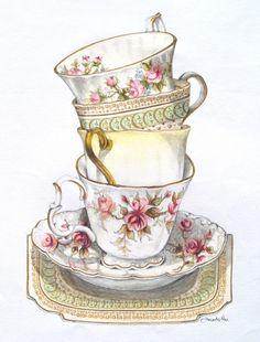 #tea cups ღღღ