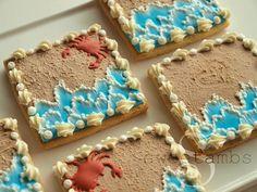 Tutorial: Beach Cookies!