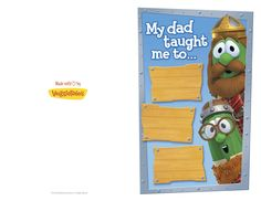 Print and personalize this Father's Day Card! #free #printable #fathers