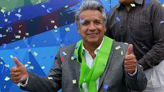 Declaran a Lenín Moreno presidente electo de #Ecuador tras el recuento parcial de los votos