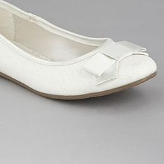 Girl's ivory glitter pumps - Smart & formal shoes - Shoes & boots - Kids -