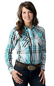 Cowgirl Hardware® Women's Turquoise, Brown