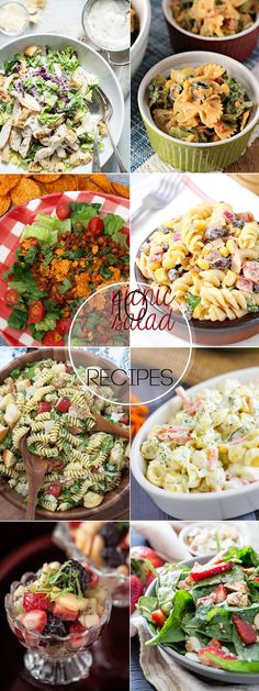 Perfect for Summer! 10 Picnic Salad Recipes