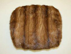 Muff, fur, 1900-10, American.