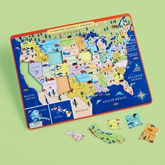 From the Mountains to the Prairies Puzzle in Puzzles | The Land of Nod