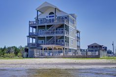 VRBO.com #293929 - Sounds Great - Soundfront W/Sandy Beach. Great for Children & Water Sports.