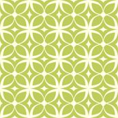 cool graphic green print