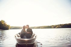 Lake Engagement Shoot - PHOTO SOURCE • APRIL K PHOTOGRAPHY | Featured on WedLoft