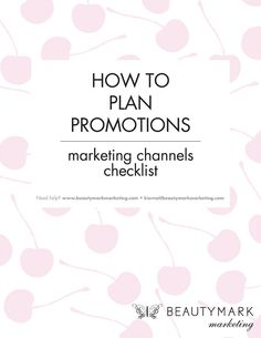 Our latest guide How To Plan Promotions including a Plan-Ahead Cheat Sheet & Marketing Channels Checklist >>  #salonpromotions