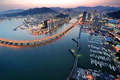 Busan, South Korea....moms hometown can't wait to visit one day