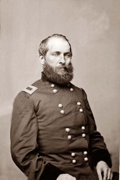 General James Abram Garfield (November 1831 – September opposed Confederate secession, served as a Major General in the Union Army during the American Civil War, and fought in the battles of Middle Creek, Shiloh and Chickamauga. American Presidents, Us Presidents, American Civil War, American History, American Pride, 20th President, Presidential History, Presidential Portraits, Federal