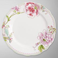 Buy Sanderson for Portmeirion Porcelain Garden Salad Plate, Dia.21cm Online at johnlewis.com