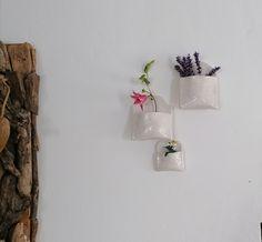Hängende Vasen Blumengefäss Blumenvase Keramik