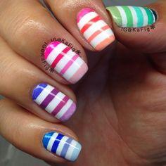 Instagram photo by kafig #nail #nails #nailart