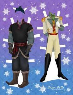 ❄ Disney's Frozen Paper Dolls ❄ Anniversaire la Reine des Neiges ❄