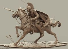 My Zbrush Artworks - Majid Esmaeili - Page 17 Horse Sculpture, Sculpture Clay, Abstract Sculpture, Fantasy Character Design, 3d Character, Zbrush, Knight Art, Drawing Poses, Fantasy Art