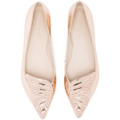 b3271be0a9b3d Sophia Webster Leather Bibi Butterfly Flats (6