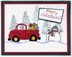 Merry Christmas Loads of Love by tc2510 - Cards and Paper Crafts at Splitcoaststampers