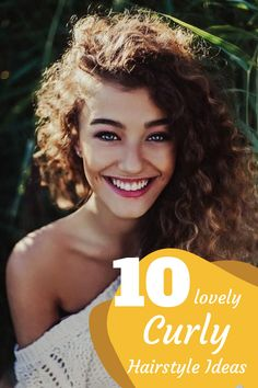 Top 10 Lovely Curly Long Hairstyles #hairstyles