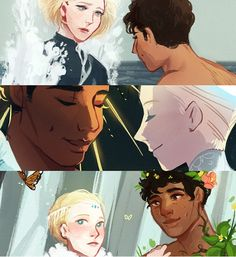 the kind of winter and the king of summer, and how they met in the middle | captive prince