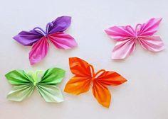 Bonitas mariposas hechas con papel para decorar