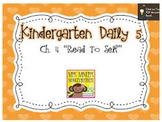 Mrs. Lirette's Learning Detectives: Daily 5: Ch. 4 Reflections {Freebie}