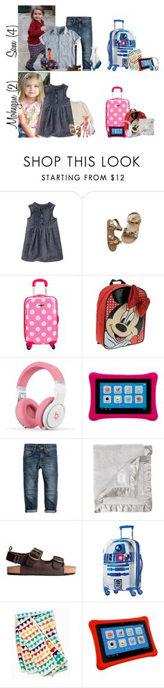 """Friday // Flight to San Francisco // 5.26.17"" by graywolf145 ❤ liked on Polyvore featuring Bonpoint, Gap, Rockland Luggage, Disney, Nicki Minaj, Little Giraffe, American Tourister, Beats by Dr. Dre, bathroom and GrayWolfFamily"