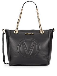 Valentino Clelia Leather Convertible Tote Shoulder Bag. Get one of the hottest styles of the season! The Valentino Clelia Leather Convertible Tote Shoulder Bag is a top 10 member favorite on Tradesy. Save on yours before they're sold out!