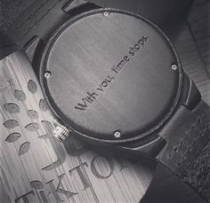 Personalize any of our unique wooden watches by getting it engraved with your own words! We can do initials/monograms, your anniversar… Bf Gifts, Love Gifts, Gifts For Him, Boyfriend Watch, Gifts For My Boyfriend, Diy Birthday, Birthday Gifts, Watch Engraving, Anniversary Dates