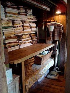 Laundry room. A Mermaid's Tale: Trevoole Farm Garden